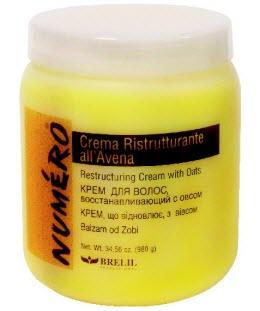 Крем для волос восстанавливающий с овсом NUMERO от Brelil Professional