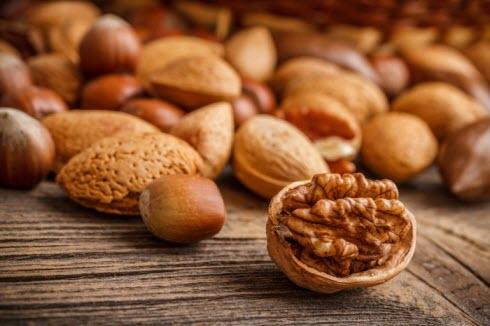Орехи для здоровья волос