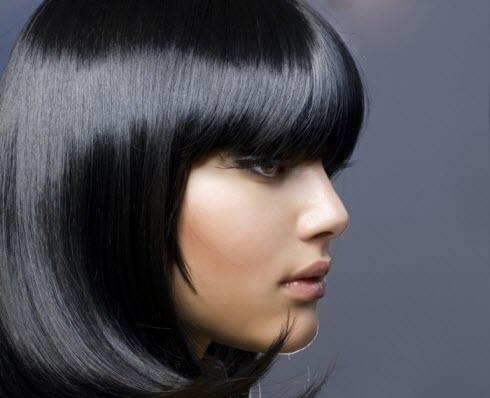 Процедура глазирования волос
