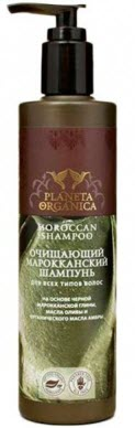 Planeta Organica Moroccan Shampoo - очищающий марокканский шампунь