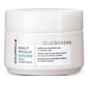 Goldwell DualSenses Scalp Specialist Sensitive 60sec Treatment — маска для чувствительной кожи