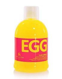 Яичный шампунь для сухих волос Kallos Cosmetics Egg Shampoo