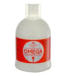 Восстанавливающий шампунь с комплексом Омега-6 и маслом макадамии Kallos Cosmetics Omega Hair Shampoo