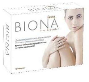 Витамины для волос Биона
