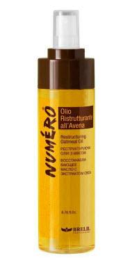 Восстанавливающее масло с экстрактом овса Brelil Numero Restructuring Oatmeal Oil