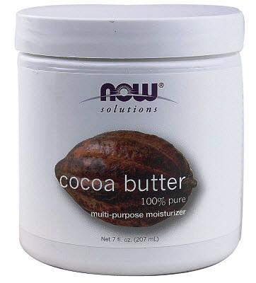 Масло какао для сухих и пористых волос
