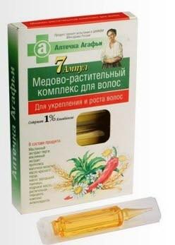 Растительный комплекс против выпадения волос Рецепты бабушки Агафьи