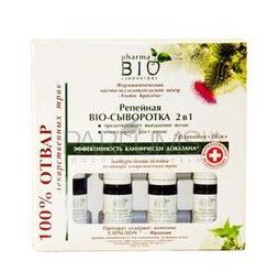 Репейная Био-сыворотка 2 в 1 предотвращает выпадение и стимулирует рост волос Pharma Bio Laboratory