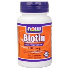 Витамины для волос Биотин