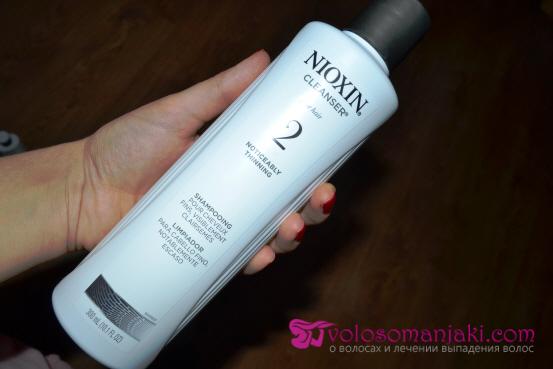 Фото: шампунь от выпадения волос Nioxin