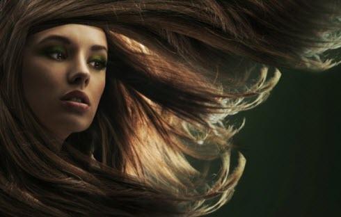Фото: здоровые волосы