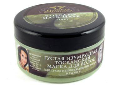 """Маска для сухих и поврежденных волос """"Изумрудная тосканская"""" Planeta Organica Toscana Hair Mask"""