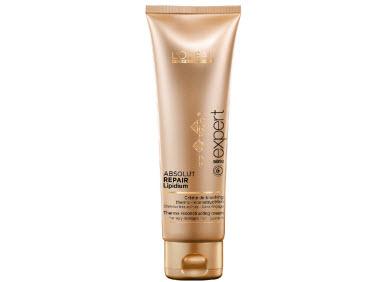Термозащитный крем для поврежденных волос LOreal Professionnel Absolut Repair Lipidium