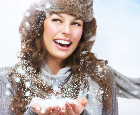 Маски для волос в зимний период