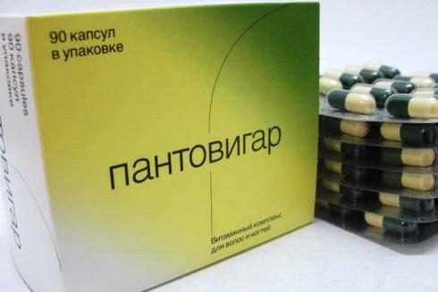 Витамины при выпадении волос
