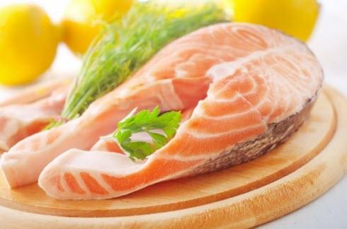 Жирная рыба для волос
