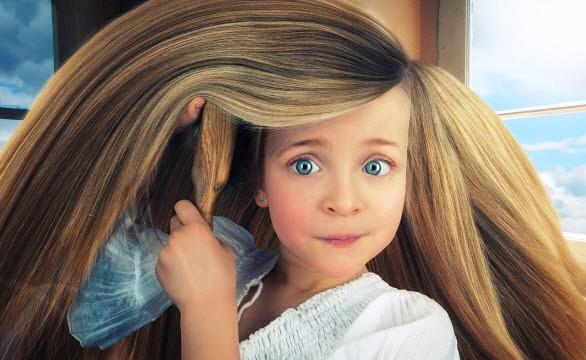 Красивые волос