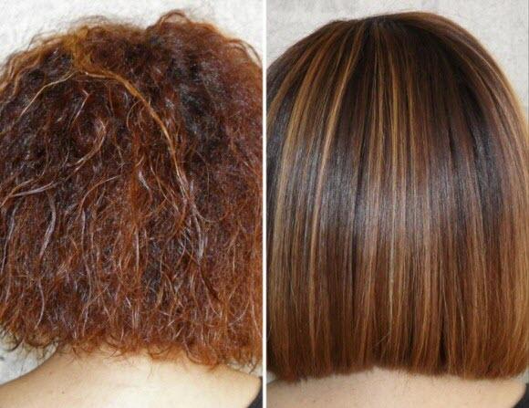 Кератин для волос: польза и вред