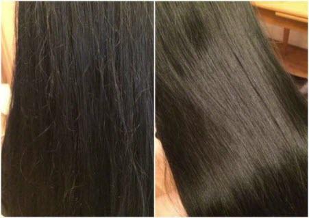 Полировка длинных волос