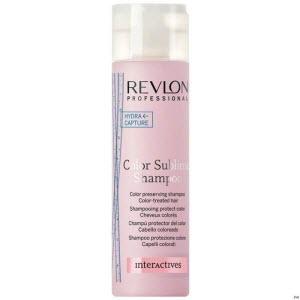 Увлажняющий шампунь для защиты цвета волос Revlon Professional Interactives Color Sublime Shampoo