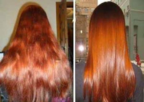 Цветное экранирование волос