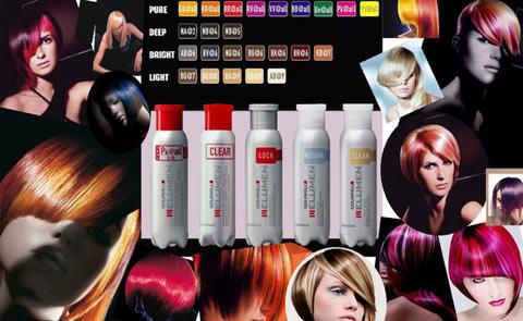 Этапы проведения элюминирования волос