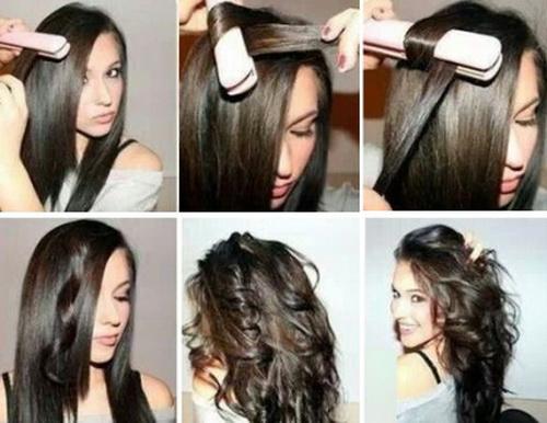 Причёски на средние волосы фото по этапам
