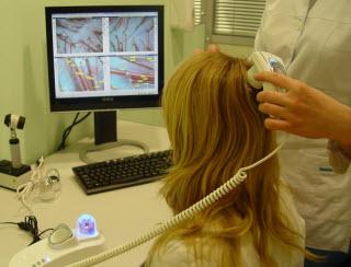 Трихоскопия волос