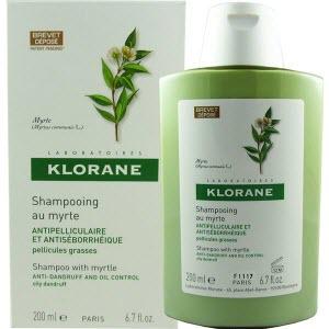 Шампунь с экстрактом Мирта от жирной перхоти Klorane Shampoo with Myrtle