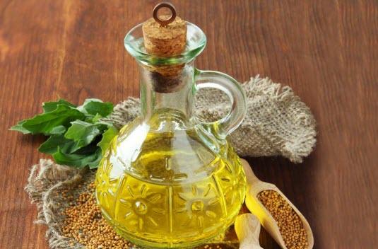 Способы использования горчичного масла для волос