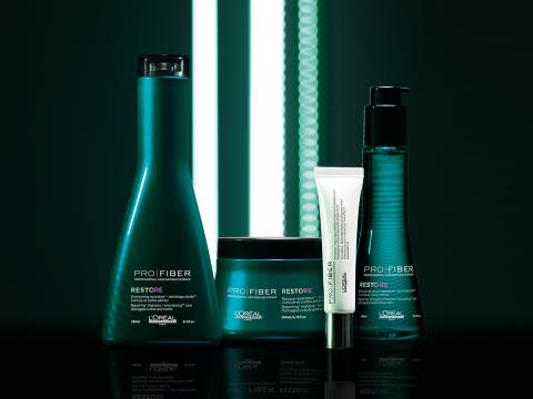 Серия для восстановления волос Lоreal Professionnel Pro Fiber Restore