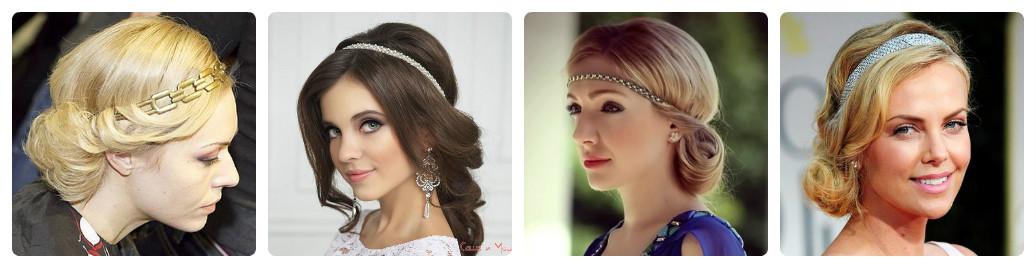 греческая прическа на каждый день волосы средней длины