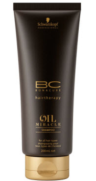 Шампунь с аргановым маслом ВС Bonacure Oil Miracle Shampoo от Schwarzkopf Professional