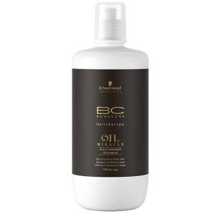 Золотая маска-блеск для волос Schwarzkopf Professional ВС Bonacure Oil Miracle