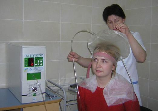 Озонотерапия для лечения выпадения волос