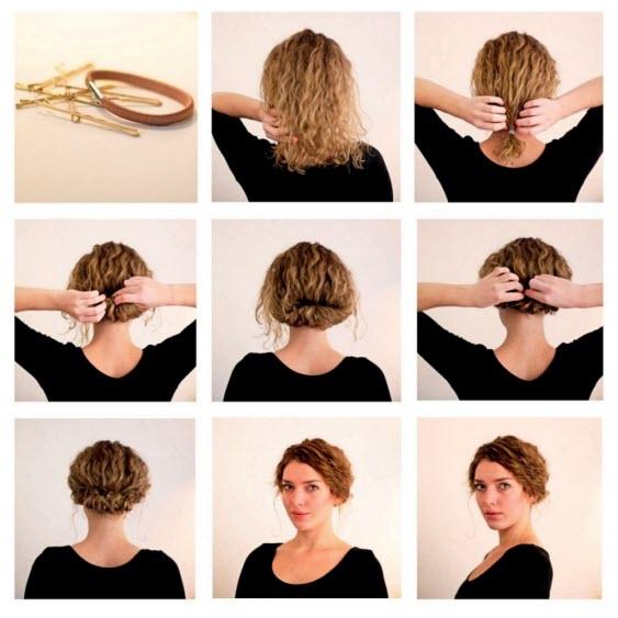 Прически на короткие волосы: пошаговые фото