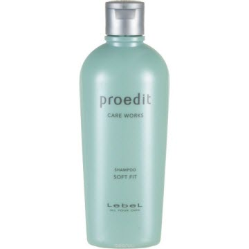 Lebel Proedit Soft Fit Shampoo – увлажняющий шампунь для жестких волос