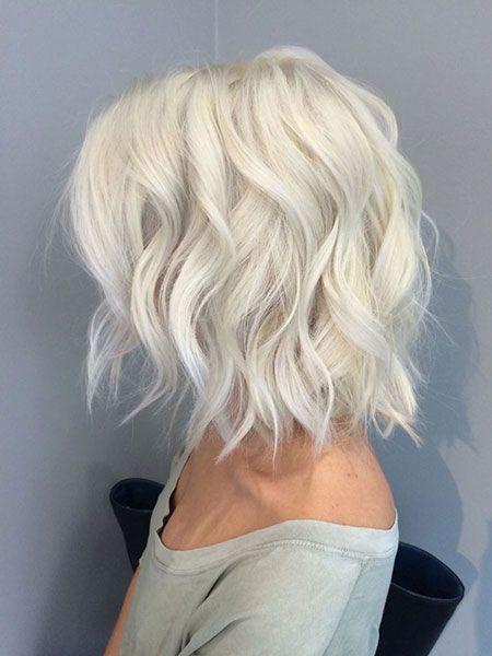 Каре на кудрявых волосах