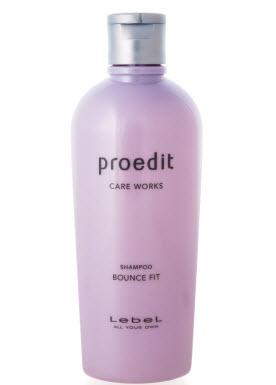 Lebel Proedit Bounce Fit Shampoo - восстанавливающий шампунь для сильно поврежденных, сухих, ломких волос