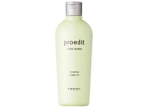 Lebel Proedit Home Shampoo Curl Fit - шампунь для тонких, сухих, непослушных и вьющихся волос