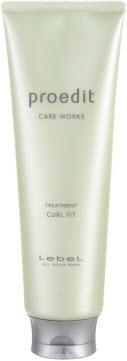 Lebel Proedit Hair Treatment Curl Fit - восстанавливающая маска для тонких кудрявых волос