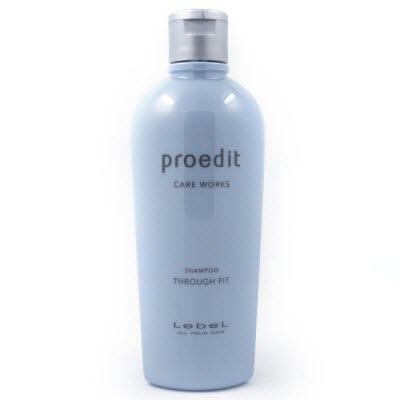 Lebel Proedit Shampoo Through Fit - питательный шампунь для жестких и непослушных волос