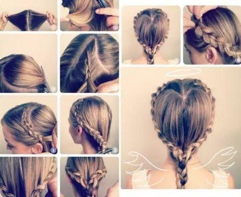 Прически на первое сентября: косы и плетения
