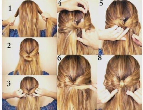Прически в школу на длинные и средние волосы