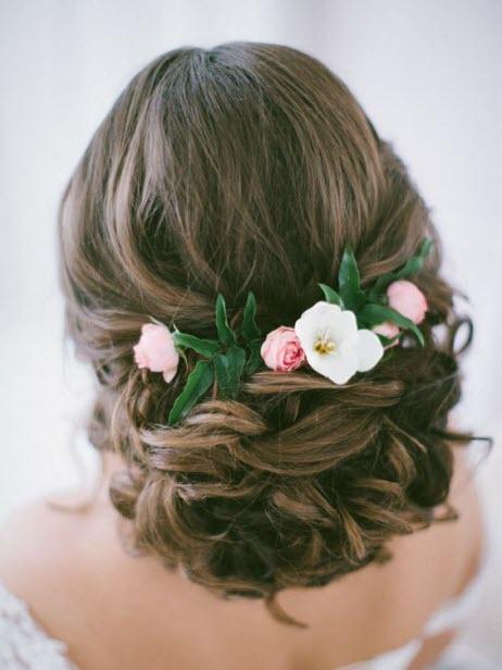 Свадебные прически: фото