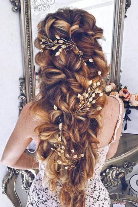 Очень красивые прически на длинные волосы свадебные