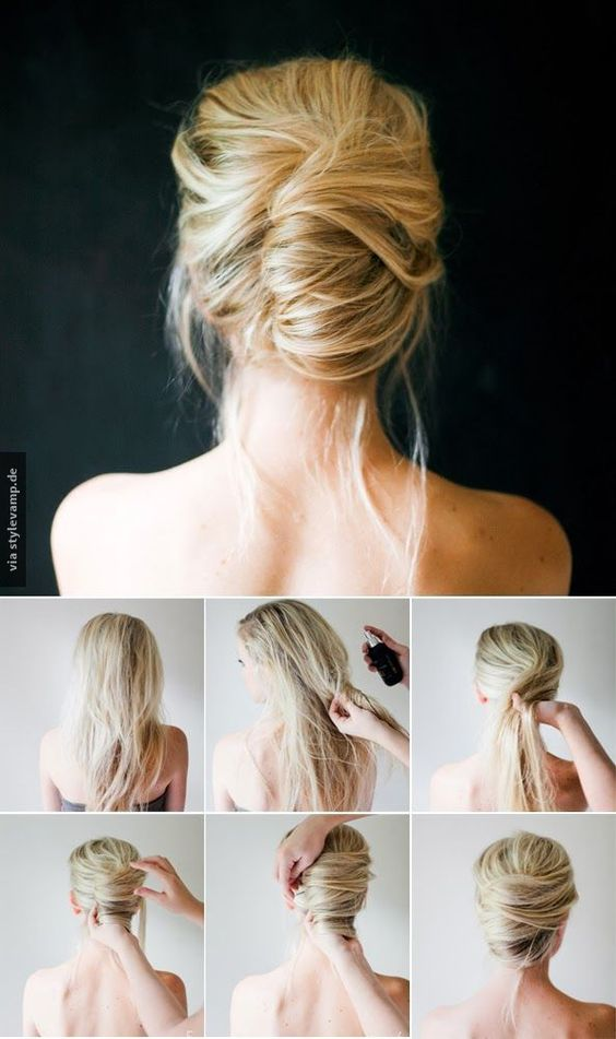 Вечерние прически на короткие волосы