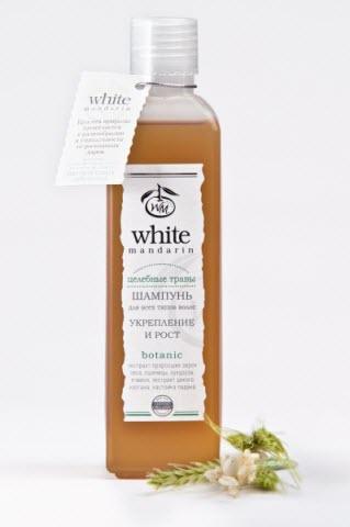 Укрепляющий шампунь для волос Целебные травы отWhite Mandarin