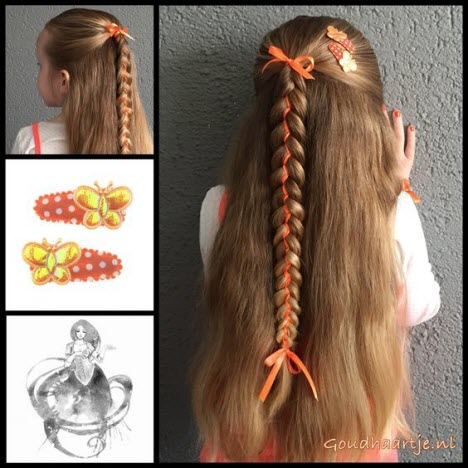 Красивые плетение на длинные волосы