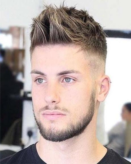 фото причёска мужской
